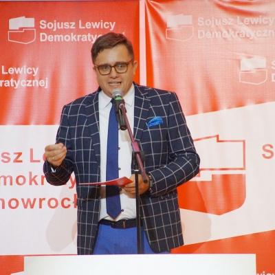 Inauguracja kampanii KKW SLD Lewica Razem w Inowrocławiu