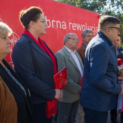 """Prezentacja czwartego punktu samorządowego programu KKW SLD Lewica Razem – """"Srebrna Rewolucja"""""""